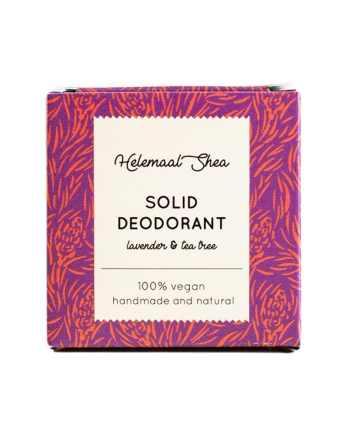 HelemaalShea Solid Deodorant Lavender & Tea Tree kiinteä deodorantti