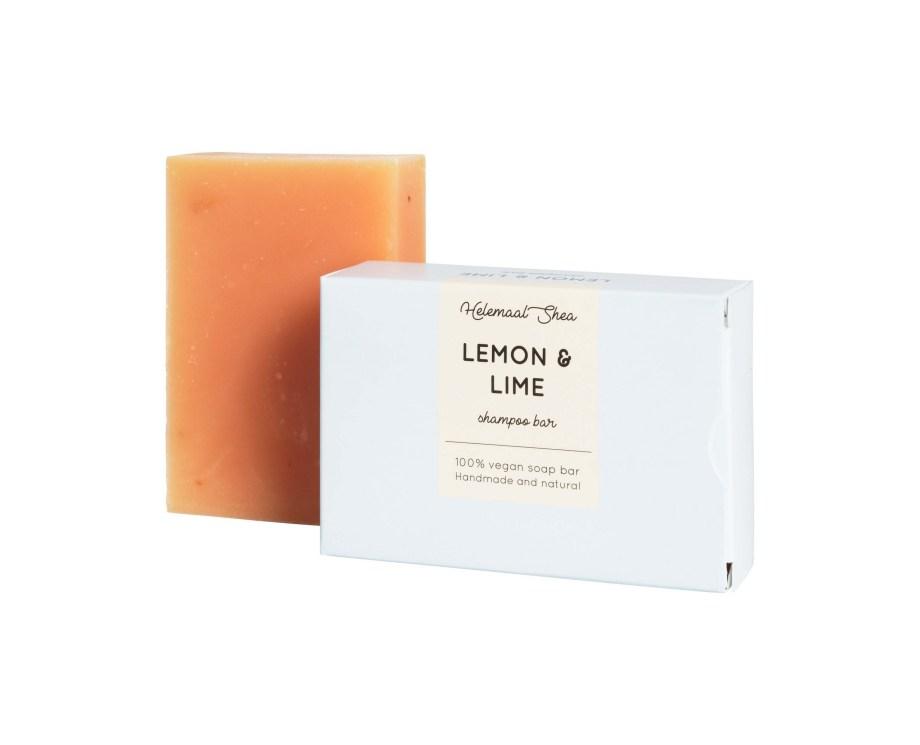 HelemaalShea Lemon Lime Sitruuna palashampoo vaaleille hiuksille.