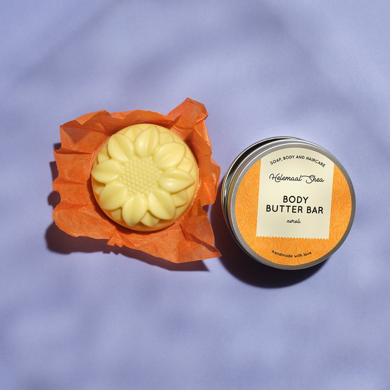 HelemaalShea Body Butter palavartalovoide Neroli appelsiininkukka