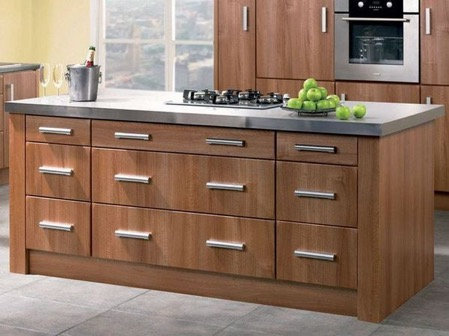 walnut cabinets kitchen wall decor for best 21 ideas beautikitchens com