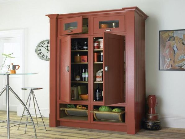 beauteous freestanding pantry closet