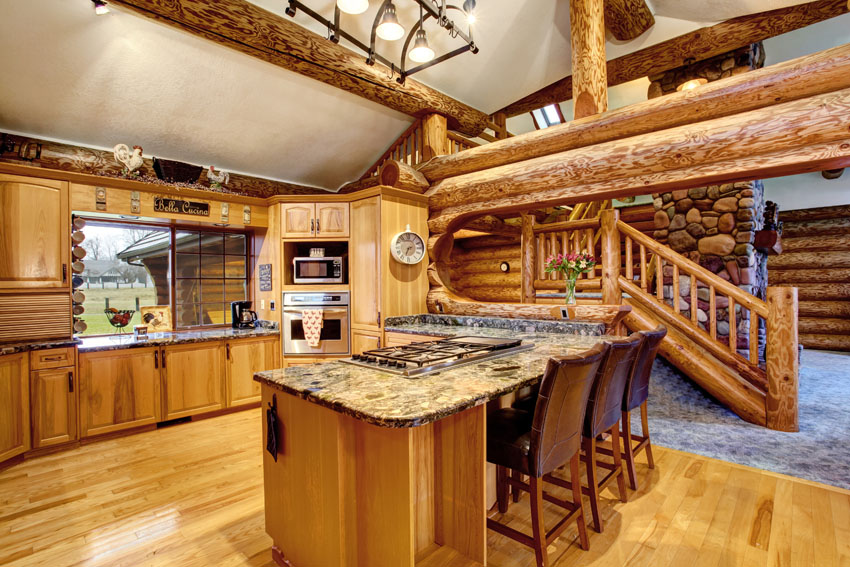Log Cabin Kitchens Cabinets Ideas In 2021 Beautikitchens Com