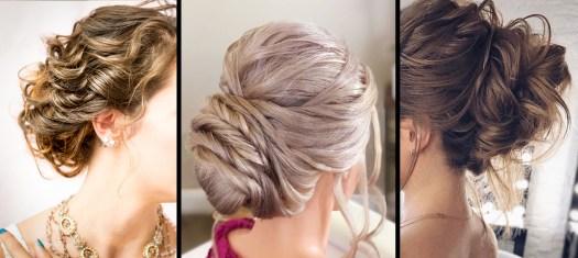 ワークショップで紹介されるルースアップの髪の毛 Loose updo hairstyles
