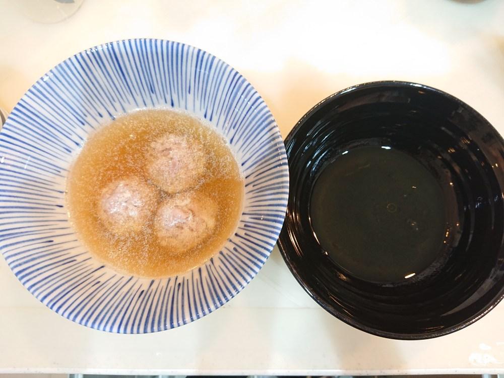 篠はら和えつけ麺スープ