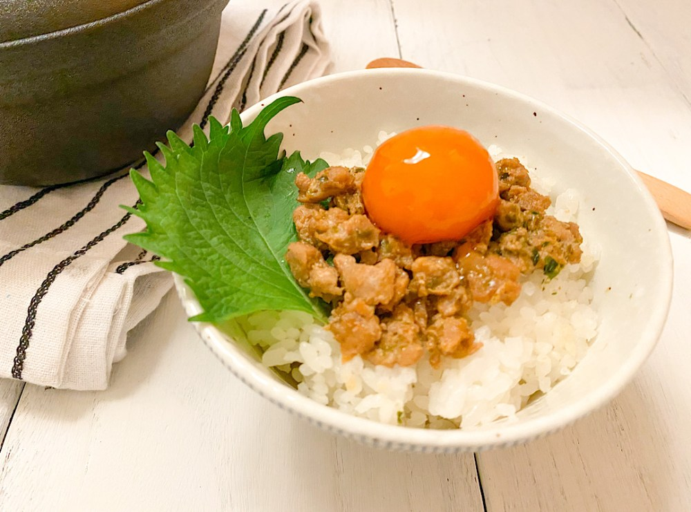 マグロフレーク丼