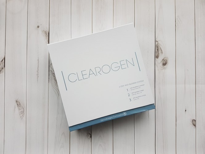 clearogen anti blemish set