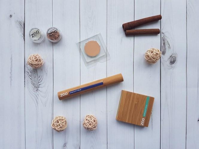 Zao Organic mascara eye base organic makeup bio makeup