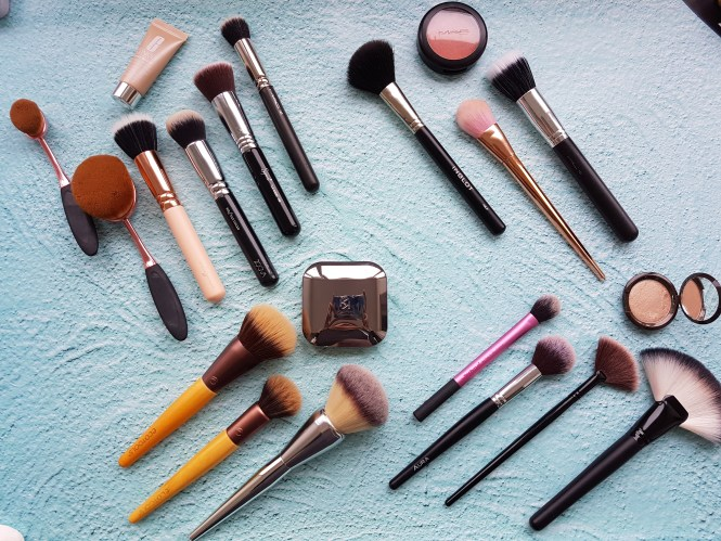what i use my face brushes for
