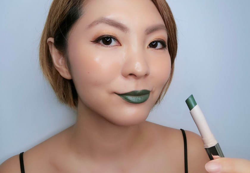 Fenty Beauty Mattemoiselle Midnight Wasabi Swatch
