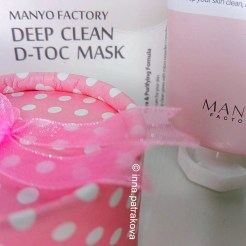 MANYO FACTOR Deep Clean D-Toc Mask