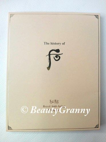 The History of Whoo Bichup Moisture Anti