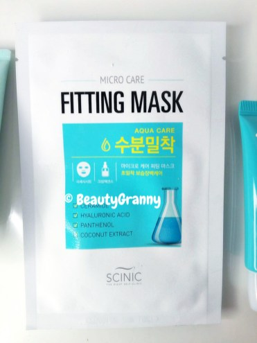 Scinic Micro Care Fitting Aqua Care Mask