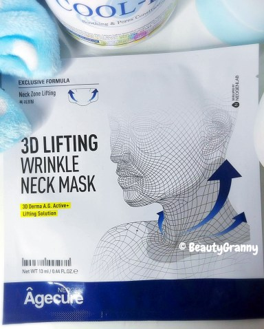 NEOGEN Code9 3D Lifting Wrinkle Neck Mask отзыв