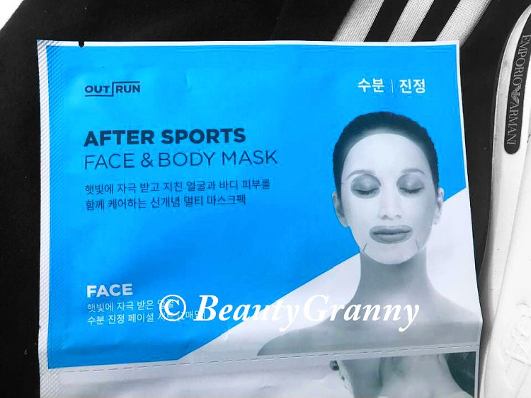 Amore Pacific Outrun After Sports Mask нужные