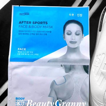 OUT RUN After Sports Face & Body Mask от