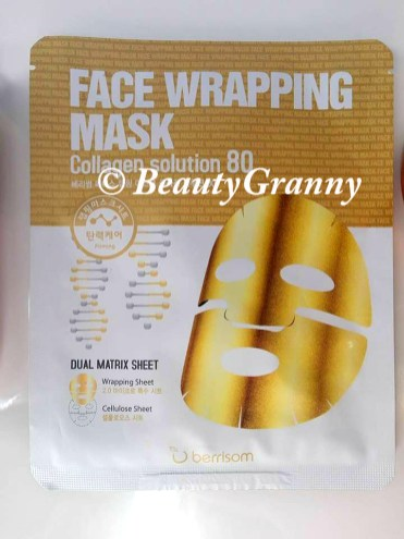 Berrisom Face Wrapping Mask Collagen Sol
