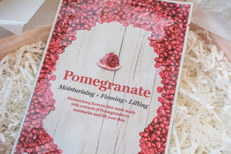 Vitamasques Pomegranate Sheet Mask