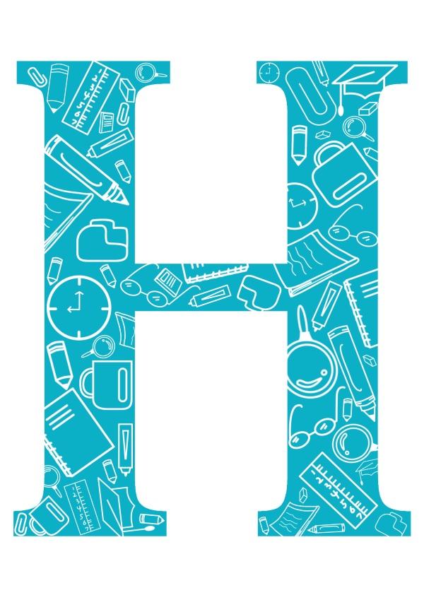 صور حرف h , صور حرف h مزخرفه و جميله - صور جميلة