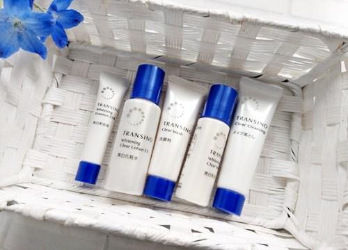 トランシーノ美白基礎化粧品口コミ