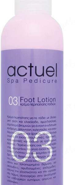 03 ACTUEL SPA FOOT LOTION 250ml