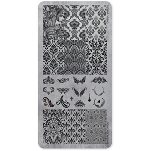 118603 STAMPING PLATE BAROQUE No04