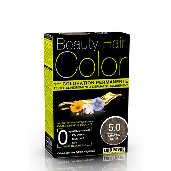 BEAUTY HAIR COLOR vopsea de păr 5.0 Șaten deschis