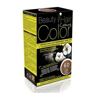BEAUTY HAIR COLOR vopsea de păr 6.0 Blond închis