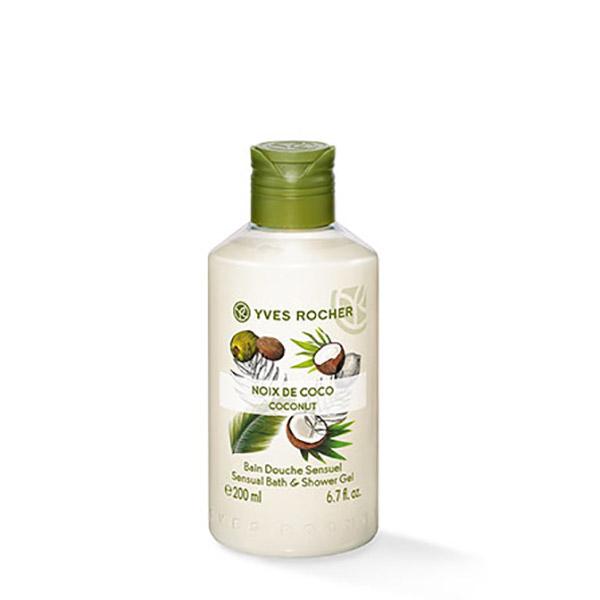 YVES ROCHER Gel de duș nectar Nucă de Cocos 200ml