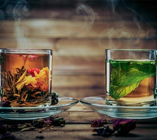Ceaiurile - remedii impotriva cearcanelor