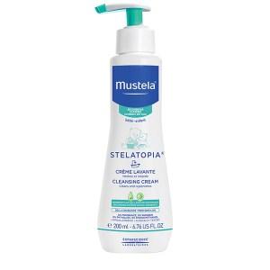 Mustela Stelatopia cremă de curățare pentru pielea cu tendință atopică 200 ml