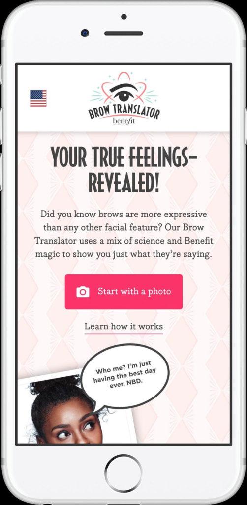 Benefit lansează tehnologia Brow Translator 1