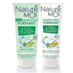 NatureMoi Set Șampon și Balsam pentru scalp gras cu extract bio de Cimbru și Lămâi de Provence