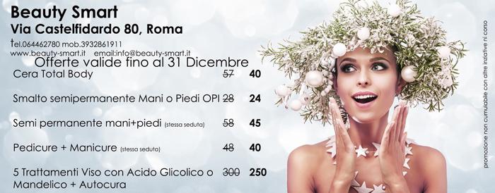 promozioni  dicembre centro estetico roma