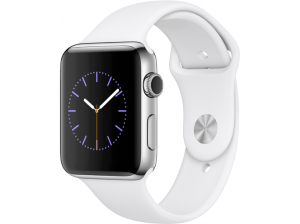 Apple Watch Series 2 42mm roestvrij staal - White