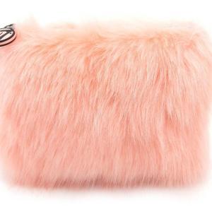 W7 Fluffy/Furry Make-up Tasje - Coral