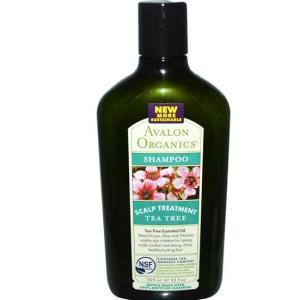 Shampoo Tea Tree hoofdhuid behandeling (325 ml) - Avalon Organics