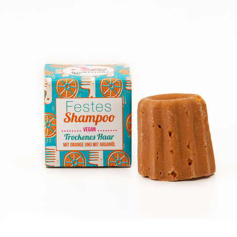 Vaste shampoo sinaasappel, 55 g 55 g