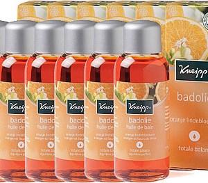 Kneipp Badolie Oranje Lindebloesem Voordeelverpakking 6x100ml