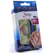 broadway 2 step nail kit 48 false
