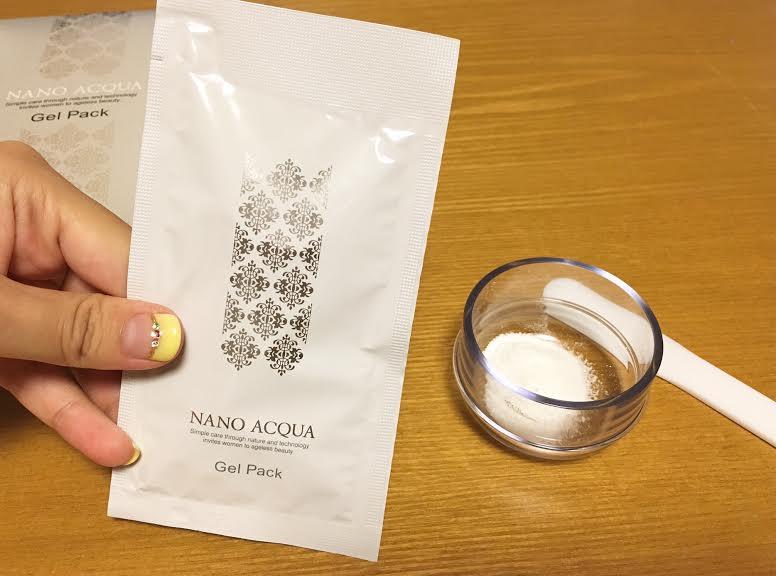 ナノアクア・炭酸ジェルパック3