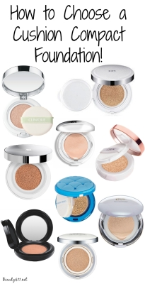 I love using cushion foundations; see my guide to choosing the right one for you!