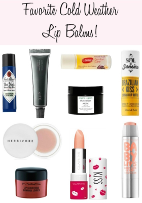 A Lip Balm Fanatics Guide to Cold-Weather Favorites!