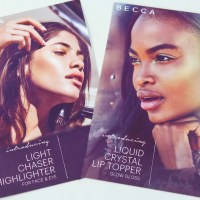 Becca Light Chaser Highlighters & Liquid Crystal Lip Toppers