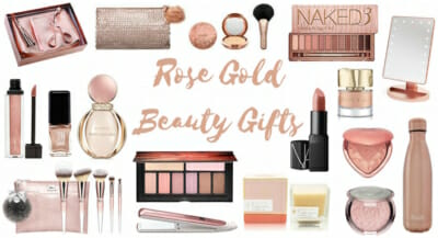 Favorite Rose Gold Beauty Gifts!