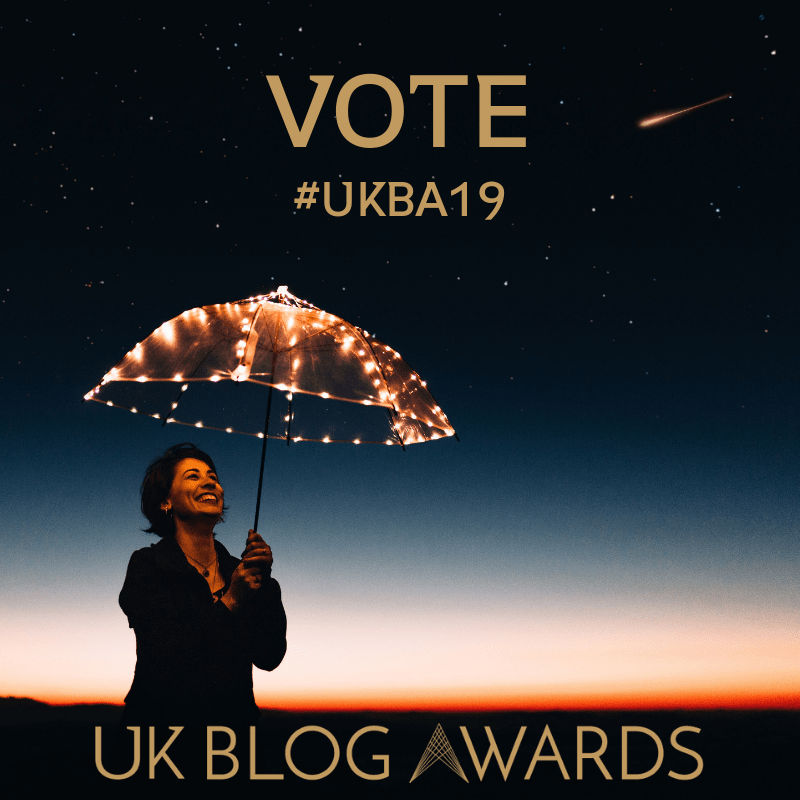 UK Blog Awards Vote for Me