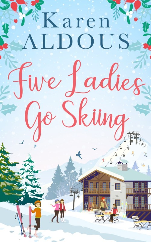 Five Ladies Go Ski-ing Book Cover