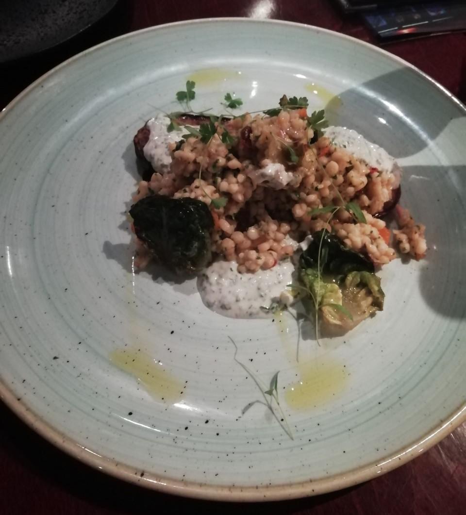 Sweet Chilli Onion Squash and Kale Salad