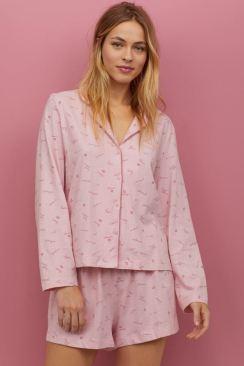 H&M Pink Short Pyjamas