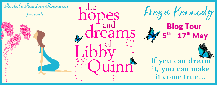 The Hopes and Dreams of Libby Quinn Blog Tour Banner