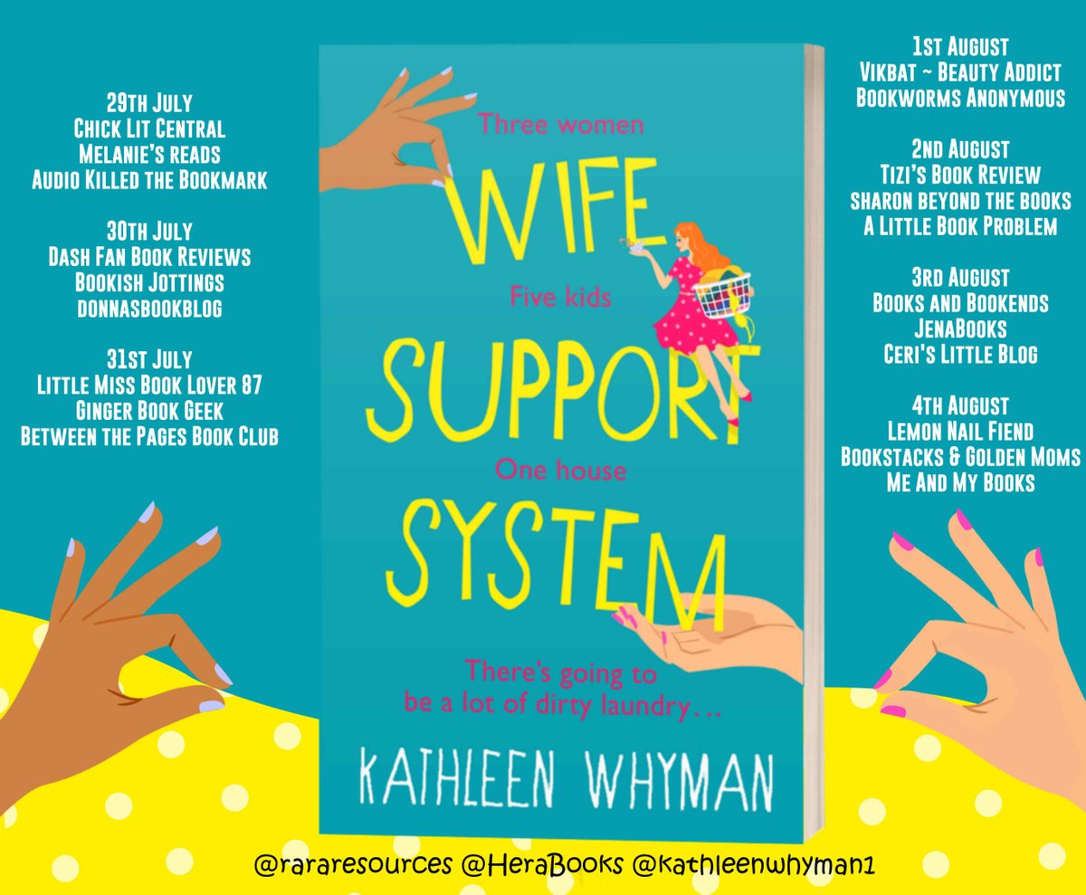 Wife Support System Blog Tour Banner